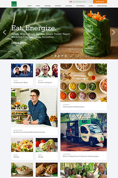 Food Web Design Toronto